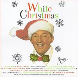 white christmas cd cover