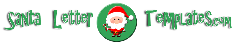 Santa Letter Templates.com